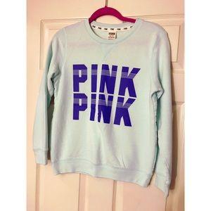 Victoria's Secret PINK Blue Sweatshirt